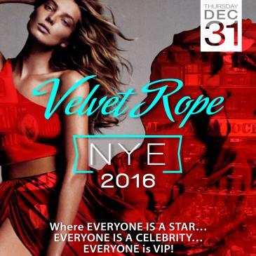 NYE Velvet Rope 2016