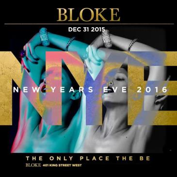 Bloke New Years Eve 2016