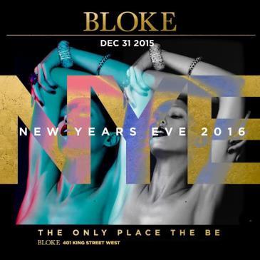 Bloke New Years Eve 2016