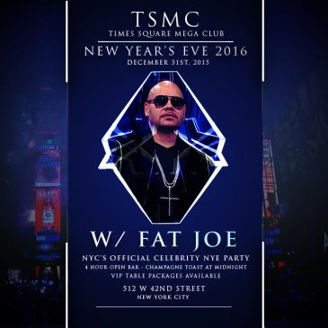 New Years Eve 2016 at Times Square Mega Club