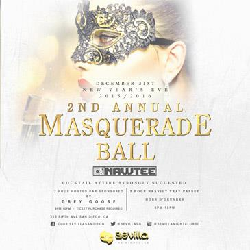 2nd Annual Masquerade Ball