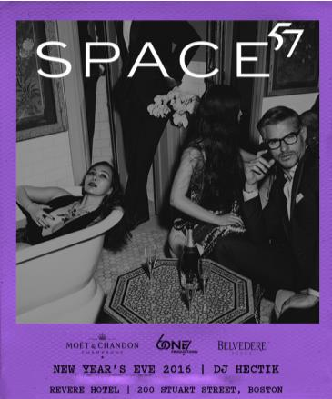 Space 57 NYE 2016 @ The Revere Hotel