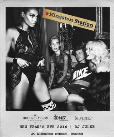 NYE 2016 at KINGSTON B&G