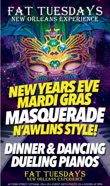 Fat Tuesday - New Years Eve