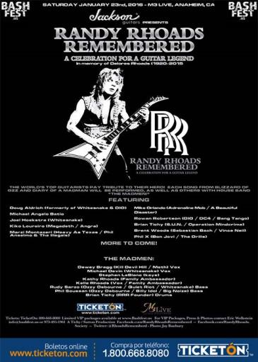 RANDY RHOADS REMEMBERED: Main Image