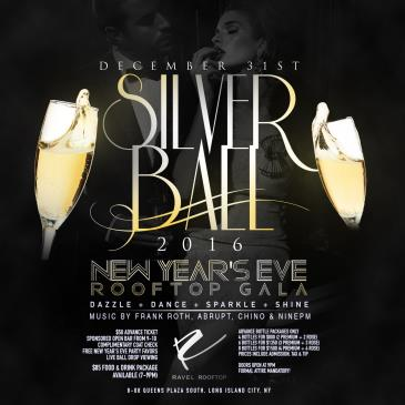 NYE 2016 Silver Ball Gala @ Penthouse808 Ravel Hotel Rooftop