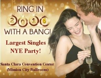 BAY AREA SINGLES GIANT NEW YEARS EVE DANCE 2016