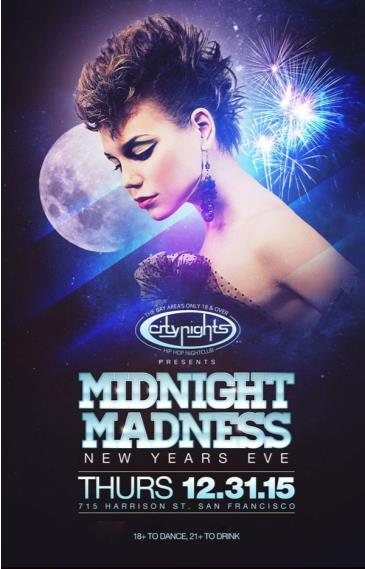 City Nights Presents: Midnight Madness 2016