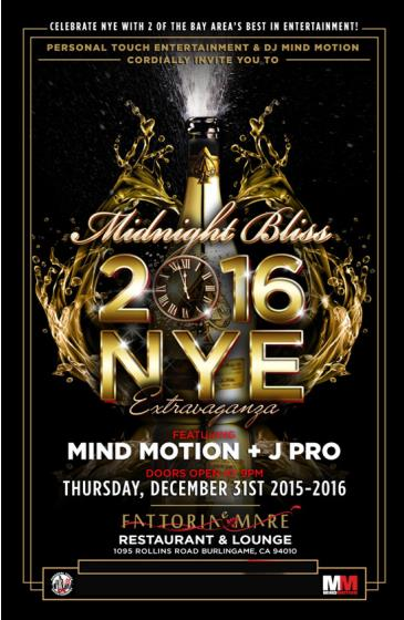 Midnight Bliss New Year's Eve 2016