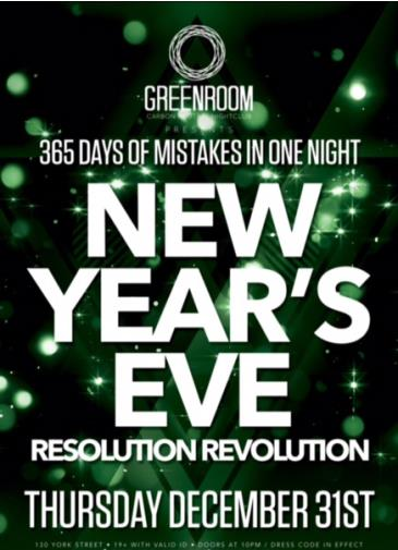 Resolution Revolution NYE