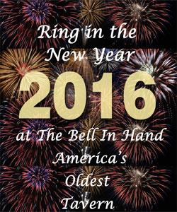 Ring in the New Year at The Bell in Hand Tavern