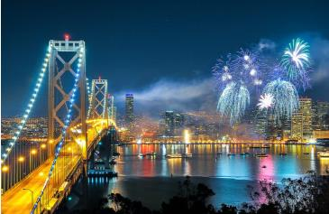 New Year's Eve 2016 FIREWORKS GALA ON THE EMBARCADERO