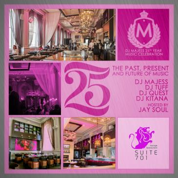 DJ MAJESS: 25 YEARS OF MIXING........