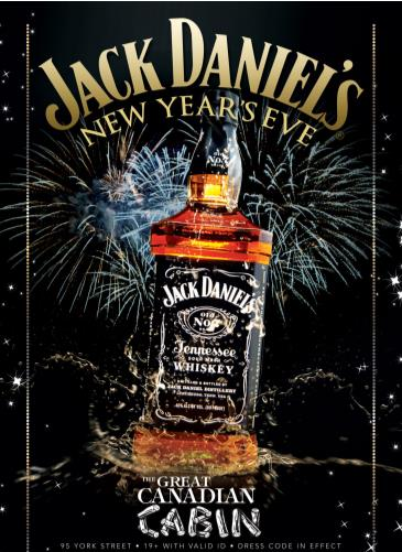 A Jack Daniels New Years Eve