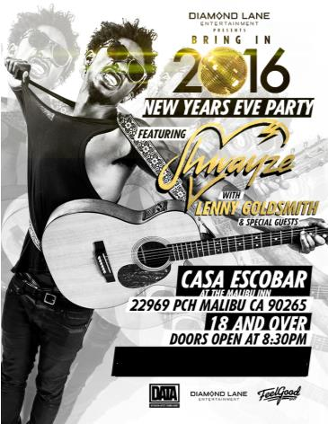 New Years Eve Party with Shwayze and Special Guests