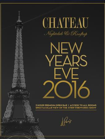 New Years Eve 2016 Celebration at Chateau Nightclub
