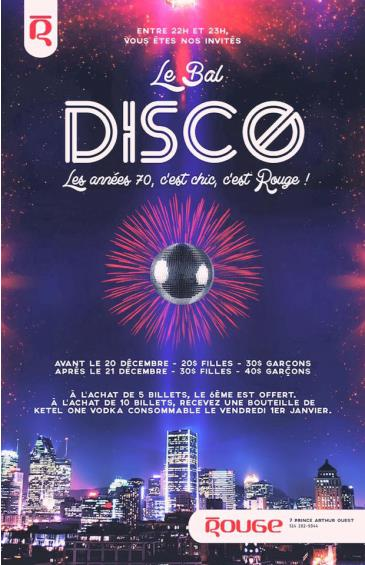 Le Bal Disco