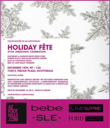 Arizona Foothills Magazine's Holiday Fête: Main Image