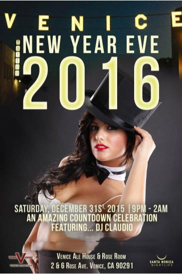 Venice Beach New Years Eve Bash