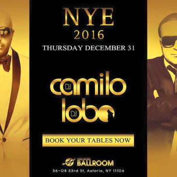 DJ Camilo New Years 2016 Party at MelRose Ballroom