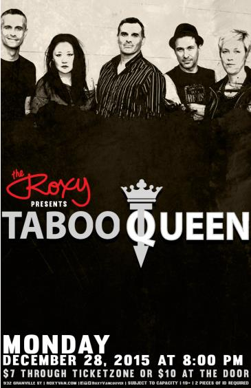 Taboo Queen w/ The Dust Covers
