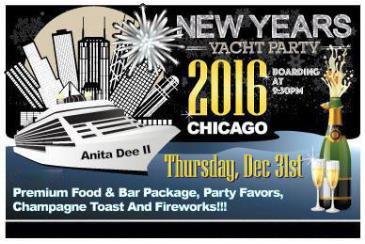 NYE 2016 Yacht Party - Chicago New Year's