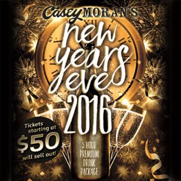 Casey Moran's 2016 NYE Bash