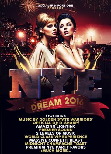 NYE DREAM 2016