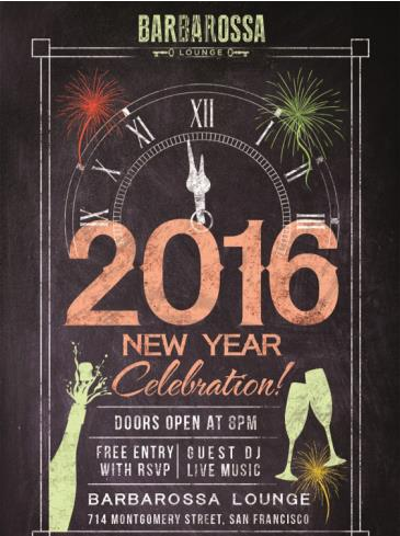 Invitation Only 2016 New Year's Eve Celebration