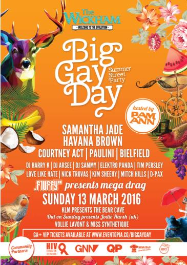 Big Gay Day - SUMMER STREET PARTY: Main Image