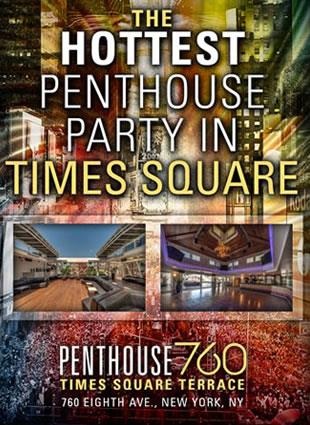 Penthouse 760 Times Square New Years Eve