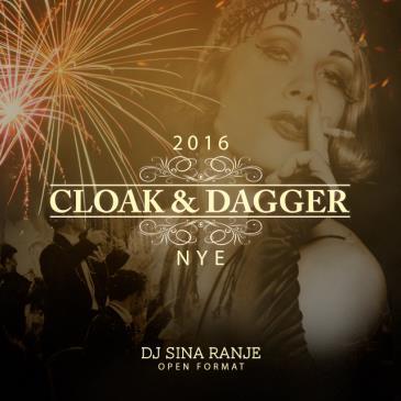 NYE 2016 at Cloak & Dagger : The 21st Amendment Celebration: Main Image