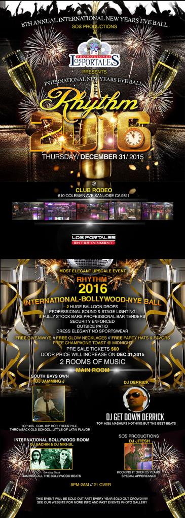 INTERNATIONAL RHYTHM 2016   NEW YEARS EVE BALL
