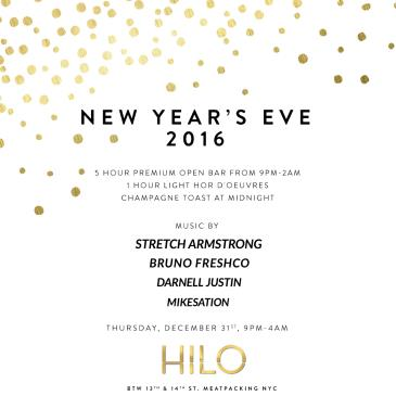 NEW YEAR'S EVE 2016 AT HILO - Meatpacking District