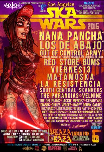 LOS ANGELES SKAWARS 2016 !: Main Image