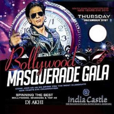 Bollywood NYE Masquerade Bash| New Years Eve Bash