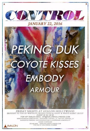 Peking Duk, Coyote Kisses, Embody: Main Image