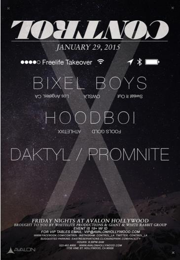 Free Life: Bixel Boys, Hoodboi, Daktyl, Promnite: Main Image