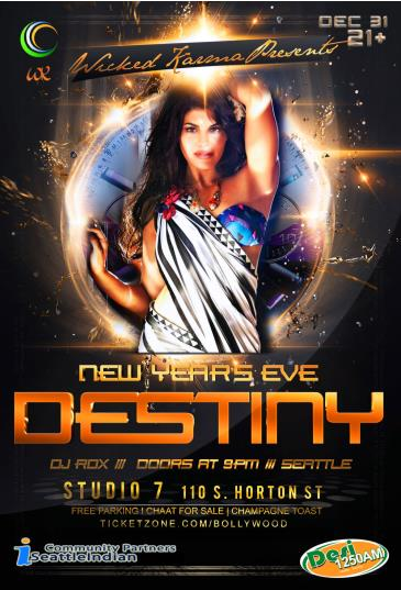 Destiny New Year's Eve Party