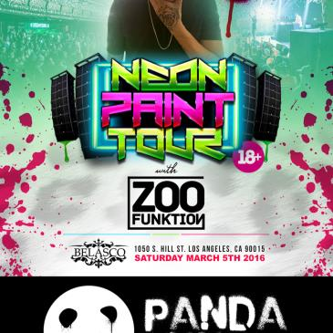 Neon Paint Tour w/ ZOOFUNKTION LIVE @ The Belasco Theatre-img