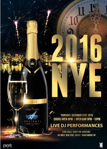New Years Eve At Vivid Nightclub - Lowest prices in Midtown