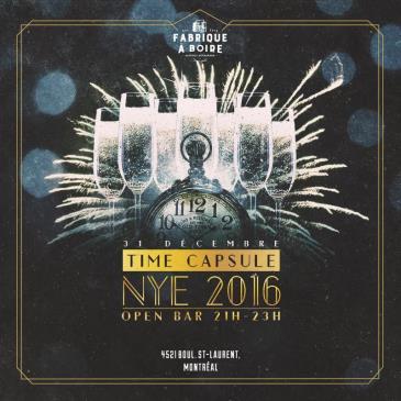 TIME CAPSULE - NYE 2016