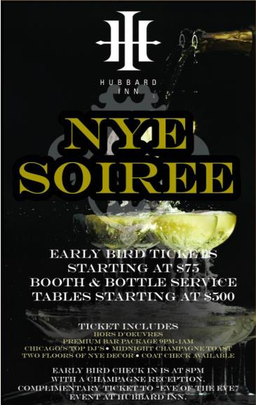 HUBBARD INN NYE SOIREE