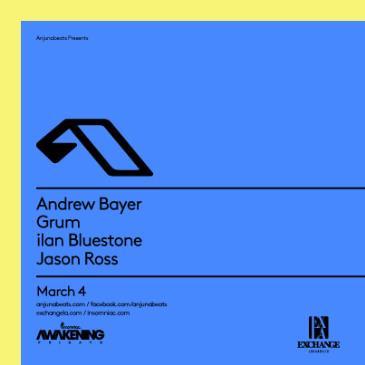 Anjunabeats NA Tour ft. Andrew Bayer, Grum, ilan Bluestone-img