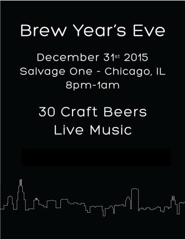 Brew Year's Eve Chicago