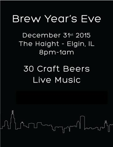 Brew Year's Eve Elgin