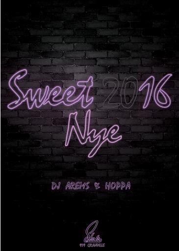 Sweet 2016 at Studio - W/ AREMS & HOPPA