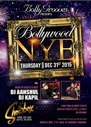 Bollywood NYE 2016