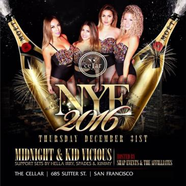 THE CELLAR PRESENTS: NEW YEAR'S EVE 2016