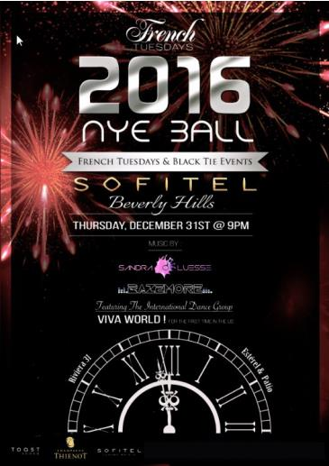 French Tuesdays NYE Ball